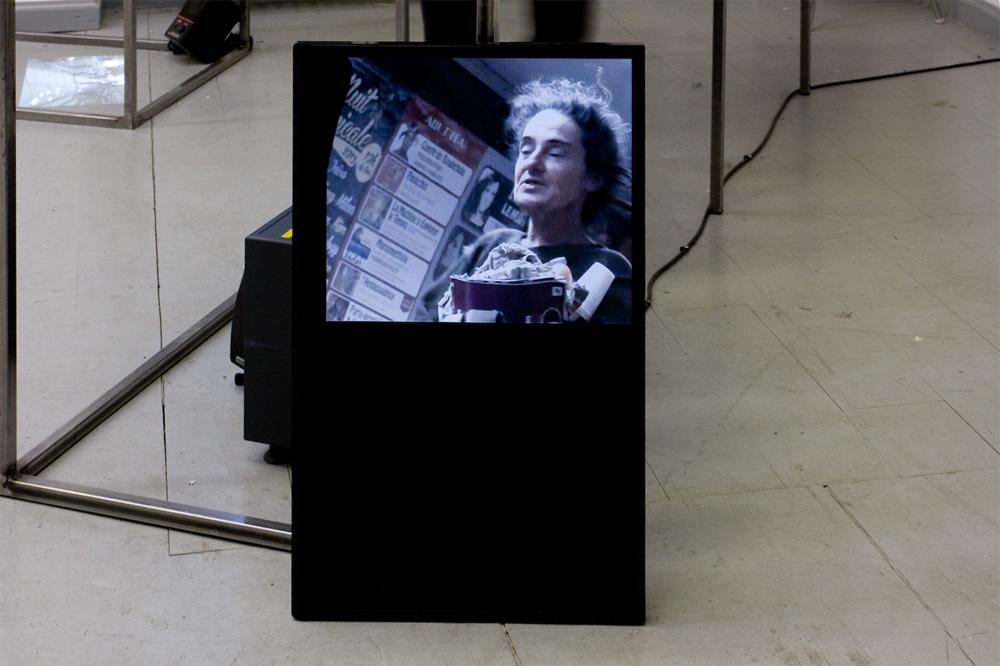 Aude Benhaim, Ich nehme den Zug nach Ihnen, Video, 4 min, 2013.