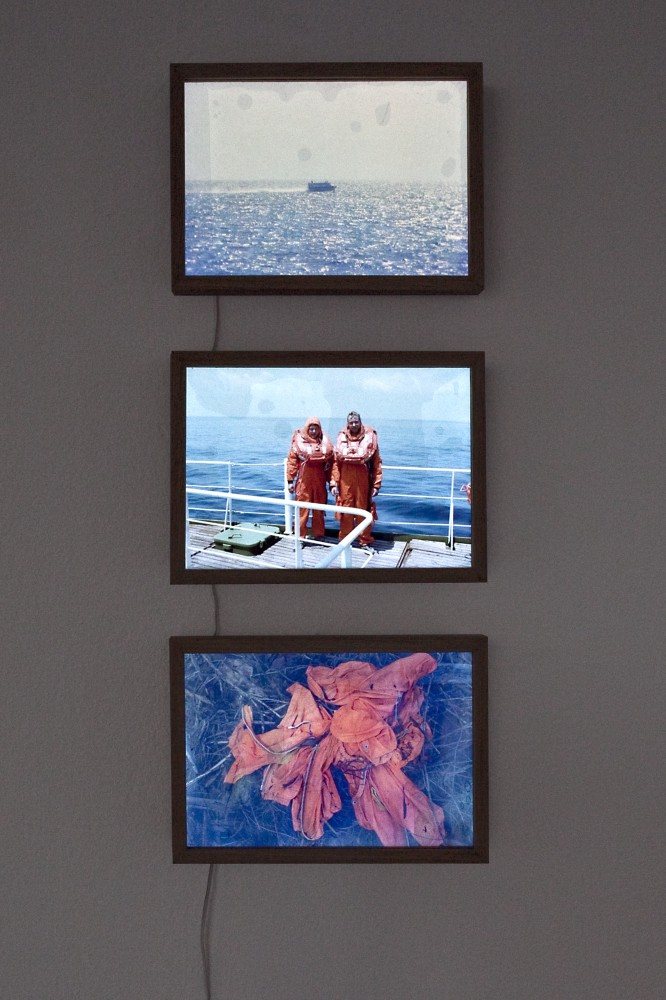 Natalia Bougai, Atlantiden, Installationsansicht.