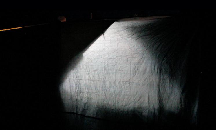 Larissa Rosa Lackner, DAS ZELT (the tent), 2015