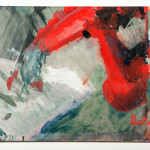 Robotic painting, acrylic on canvas, 60x 80cm,